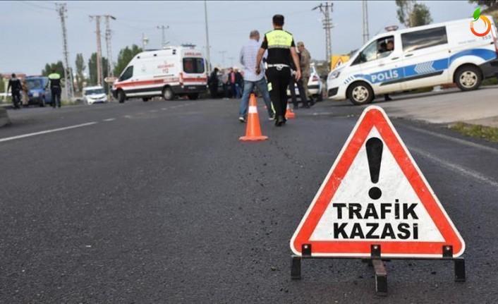 Hekimhan'da feci kaza: 1 ölü, 1 yaralı