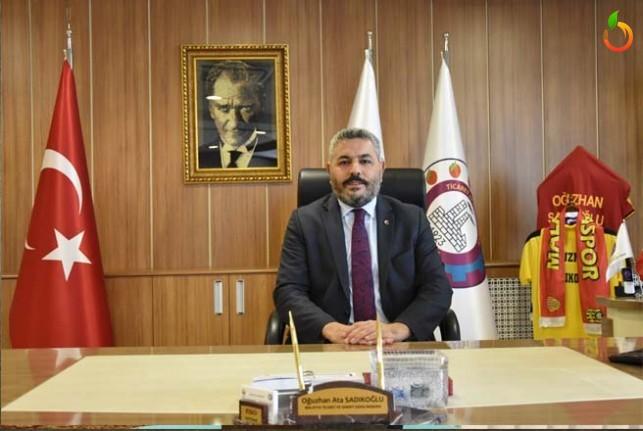 Malatya TSO Başkanı Sadıkoğlu'ndan 30 Ağustos Zafer Bayramı Mesajı