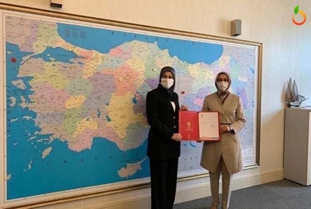 Özlem Pelitoğlu AK Parti Malatya İl Kadın Kolları Başkanı Oldu