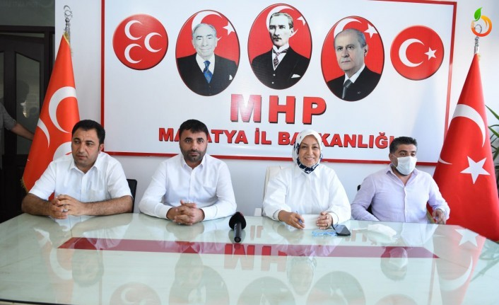 Öznur Çalık'tan MHP İl Başkanlığına Ziyaret