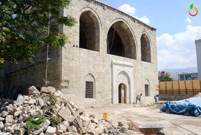 Taşhoron Kilisesi'nde restorasyon çalışmaları sürüyor