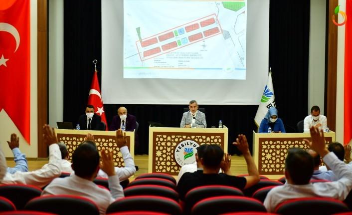 Yeşilyurt Belediye Meclisi, Ağustos Ayı Toplantısını Yaptı