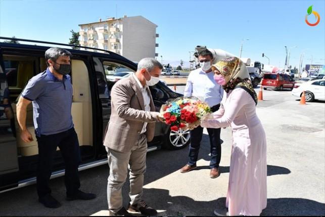 Başkan Çınar, Görevine Başladı