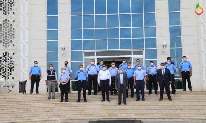 Başkan Güder'den Zabıta Teşkilatına Ziyaret