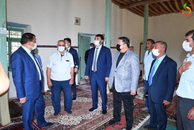 Başkan Gürkan, Hamido'nun Anısına Sahip Çıktı