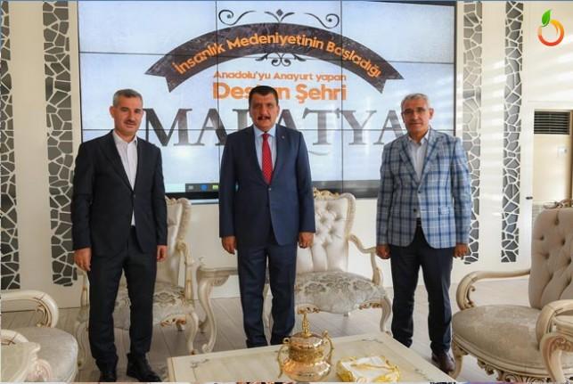 Başkan Gürkan Merkez İlçe Belediye Başkanları İle Bir Araya Geldi