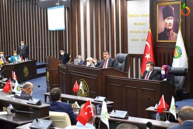 Büyükşehir Belediye Meclisi Eylül Toplantısı Tamamlandı