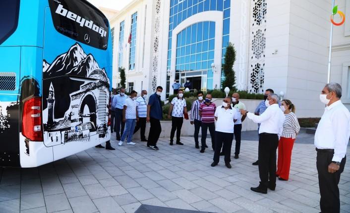 'Medeniyetin Kalbi Battalgazi' Otobüslere Giydirildi