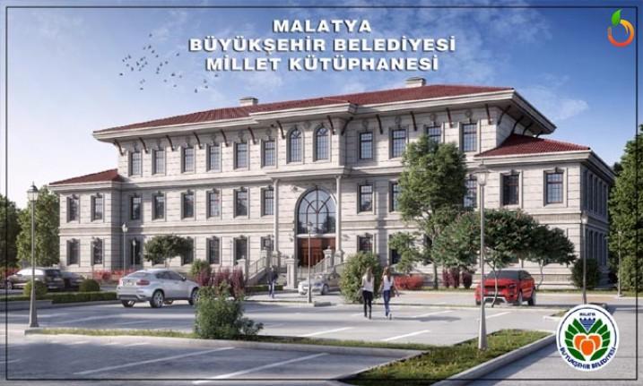 Millet Kütüphanesi Malatya'ya Yakışacak