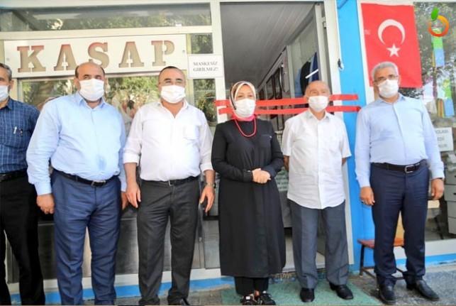 Milletvekili Çalık, Battalgazi ilçesinde esnafları ziyaret etti
