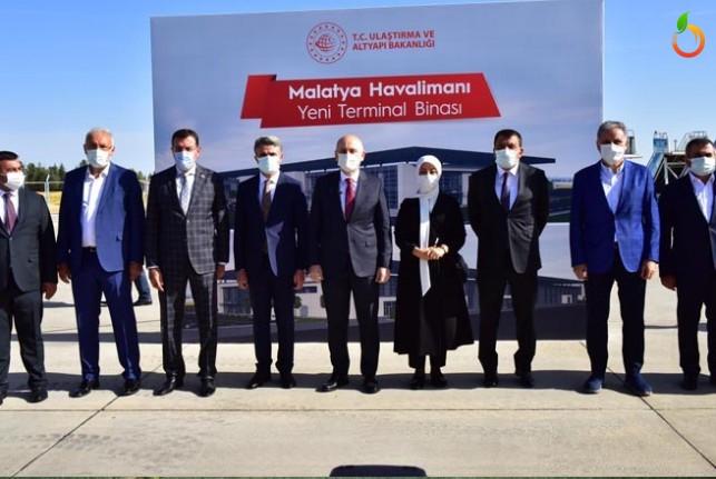 Ulaştırma ve Altyapı Bakanı Karaismailoğlu Malatya'da
