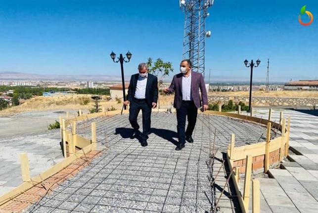 Yeşilyurt Belediyesi, Gedik Tepesine Oba Çadırı Kuruyor