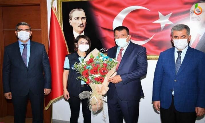 Zabıta Teşkilatından Başkan Gürkan'a Ziyaret