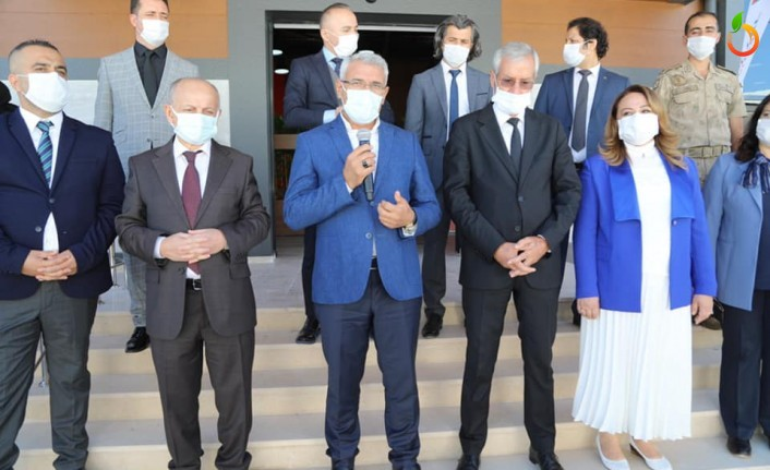 Başkan Güder, MTÜ Öğrenci Yaşam Merkezi'nin Açılışına Katıldı