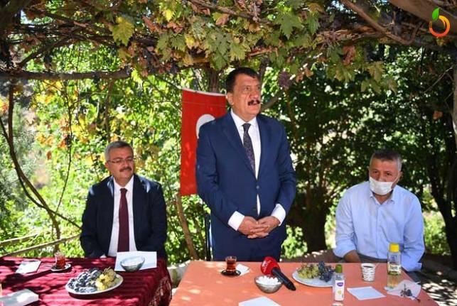 Başkan Gürkan'dan Hizmet Vurgusu
