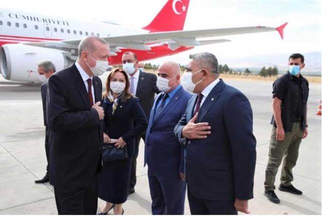 Başkan Sadıkoğlu, Erdoğan ve Bakanlarla Görüştü