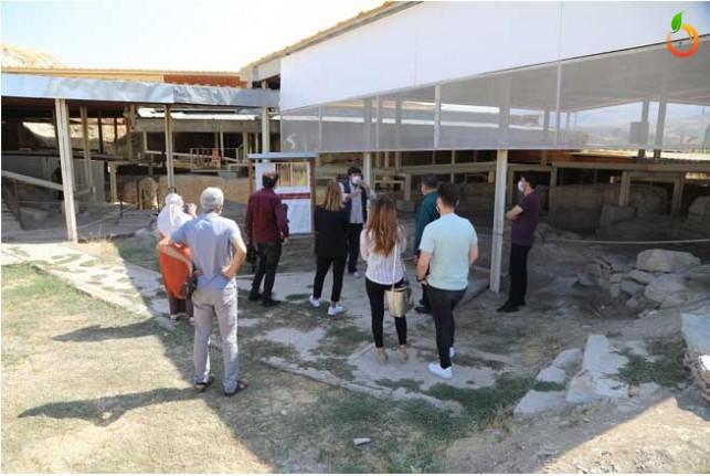 Covid-19 Etkisine Rağmen Arslantepe'ye Ziyaretçi Akını