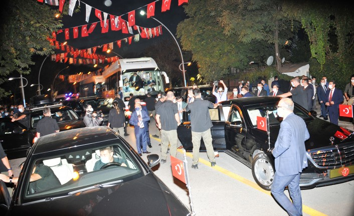Cumhurbaşkanı Erdoğan, Park Makamda Yemek Yedi