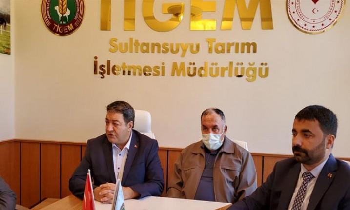 Fendoğlu ve Samanlı TİGEM Sultan Suyu Harasını Ziyaret Etti
