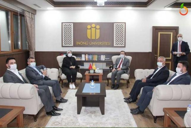 Milletvekili Çalık, Rektör Kızılay'ı ziyaret etti