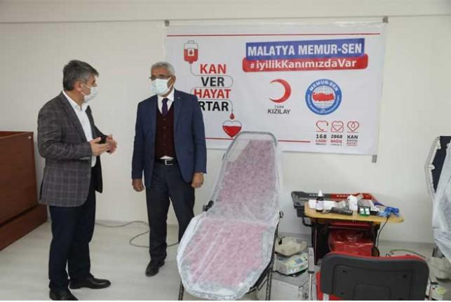 Başkan Güder'den Kan Bağışı Kampanyasına Destek