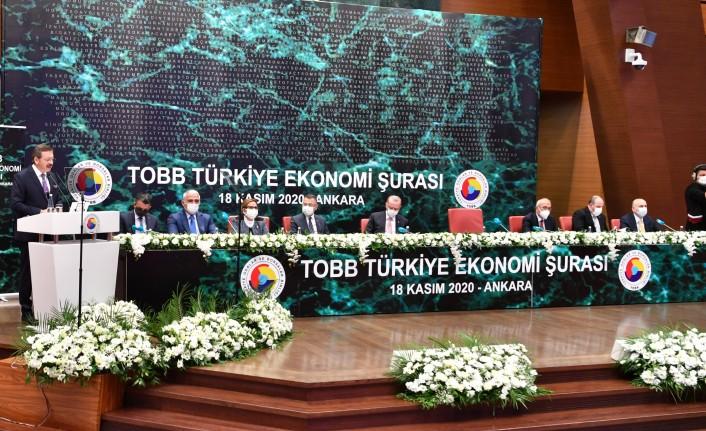 Başkan Sadıkoğlu, TOBB Türkiye Ekonomi Şurası'na katıldı
