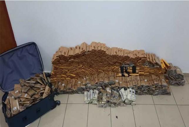 Malatya'da Toz Esrar Ele  Geçirildi