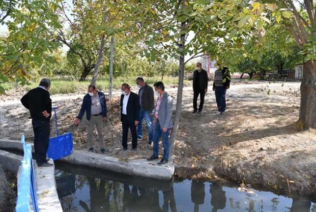 Sulama Kanalıyla 2 Bin Dönüm Arazi Sulanacak