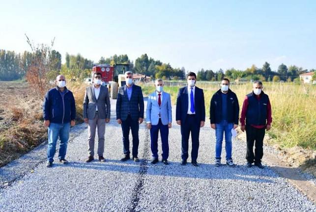 Yeşilyurt'ta 171 Km Sathi Kaplama Yapıldı