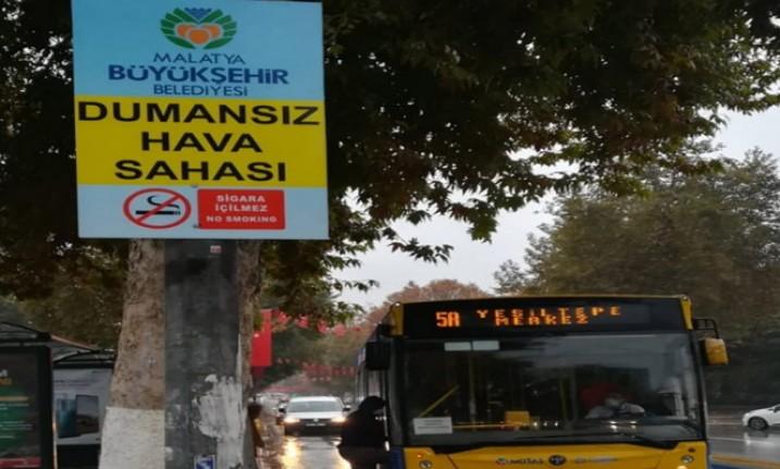 Büyükşehir Belediyesi'nden 'Dumansız Hava Sahası' Uygulaması