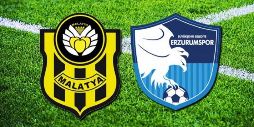 Maç Sonucu: Yeni Malatyaspor-1-3 BB Erzurumspor
