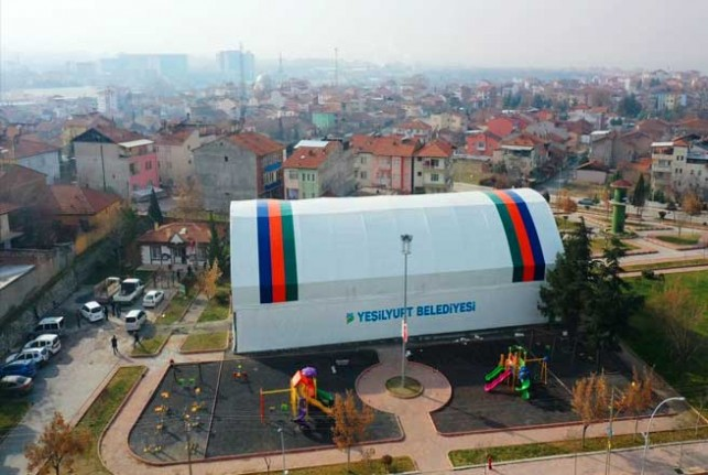 Yeşiltepe Vatandaşın Sosyal Hayatına Renk Katıyor