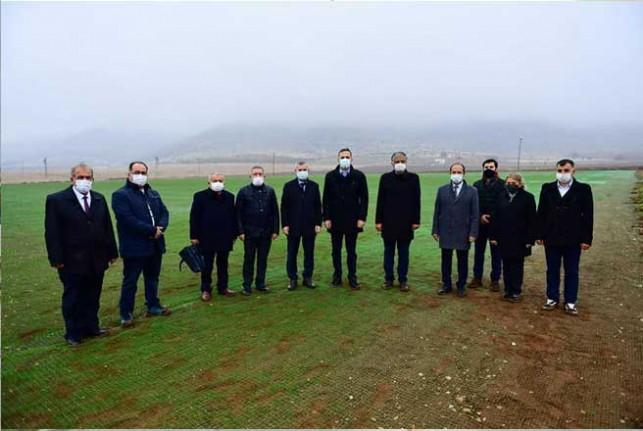 Yeşilyurt'un Tarımsal Üretim ve AR-GE Sahasında Çalışmalar Devam Ediyor