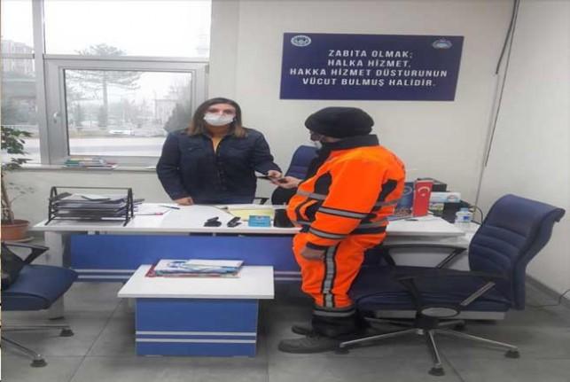 Battalgazi Belediyesi Temizlik Görevlisi'nden İkinci Kez Örnek Davranış