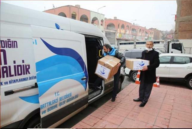 Battalgazi Belediyesi'nden Türkmen Dağı'na Yardım Eli