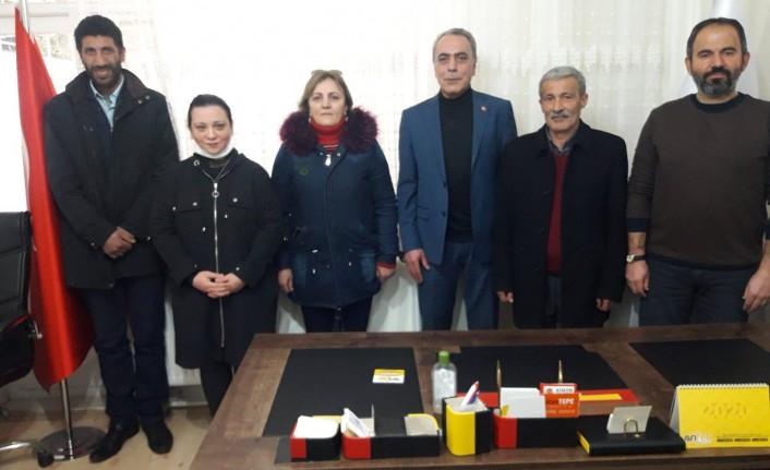 BBP İl Yönetimi ve Alperenler Ocağı'ndan Diriliş Hareketi'ne Ziyaret