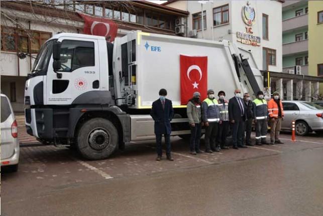 Doğanşehir Belediyesi Araç Filosunu Genişletiyor.