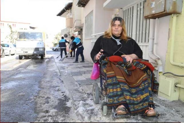 Engelli Kaya'nın Yardımına Battalgazi Belediyesi Yetişti