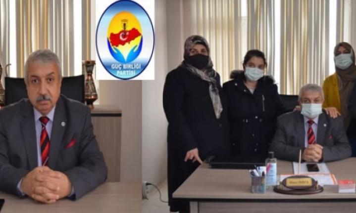 Güç Birliği Partisi MYK Üyesi Ahmet İrmek, Gazetecilerle bir araya geldi