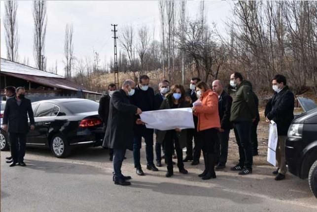 İmar Komisyonu Ekipleri Doğanşehir'de İnceleme Yaptı
