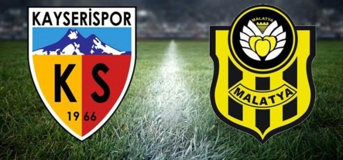 Maç Sonucu: Kayserispor 1-0 Y. Malatyaspor