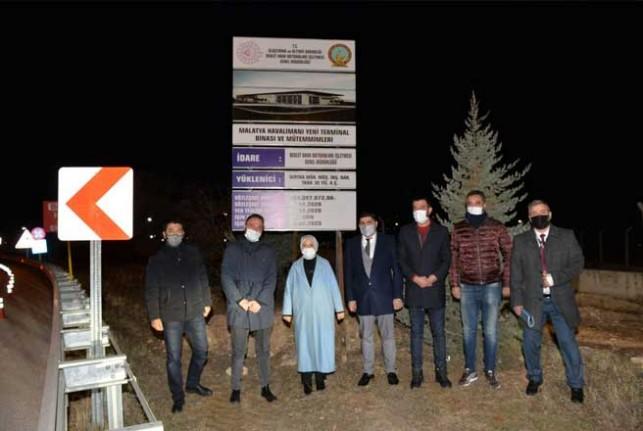 Malatya Havalimanına yeni terminal binası yapılıyor