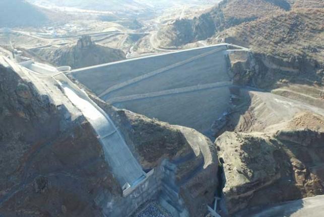 Malatya Yoncalı Barajı Ve Sulama İsale Tünelinde Çalışmalar Devam Ediyor