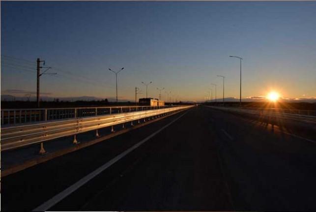 Tohma Köprüsünün yapımı tamamlandı
