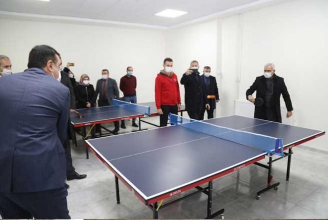 Tüfenkci, Battalgazi'deki Gençlik Yatırımlarını İnceledi