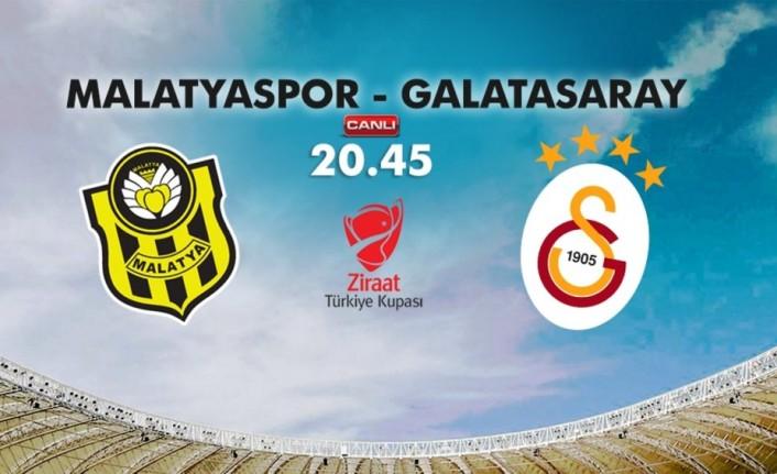 Yeni Malatyaspor-Galatasaray saat kaçta, hangi kanal da?