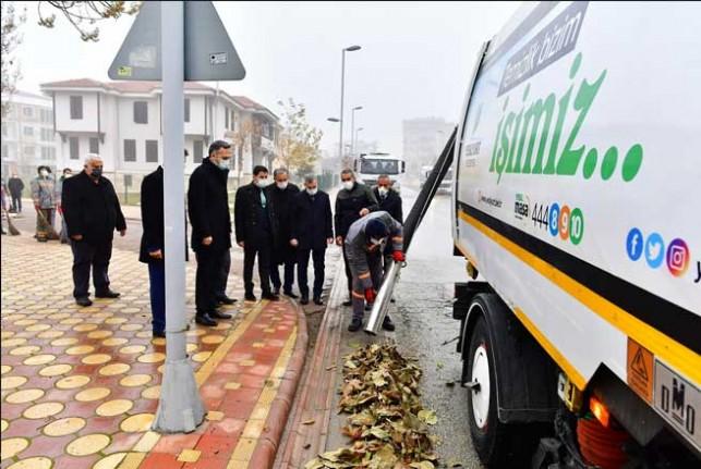 Yeşilyurt'ta Temizlik Çalışmaları Öncelikli İş