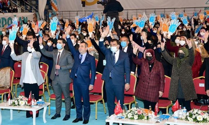 AK Parti il kadın kolları 6. olağan kongresi yapıldı