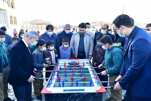 Başkan Çınar, yüz yüze eğitim dönemde çocuklarla bir araya geldi