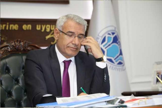 Başkan Güder, TRT Gap Radyosu'na Battalgazi'deki Yatırımları Anlattı
